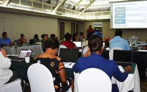 The regional consultation to validate a Pacific statistical guidebook to human rights reporting in Fiji i is underway.