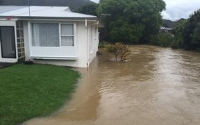 Flooding in Lower Hutt