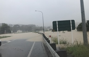State Highway 1 flooding