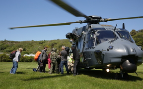 NZ Defence Force evacuation