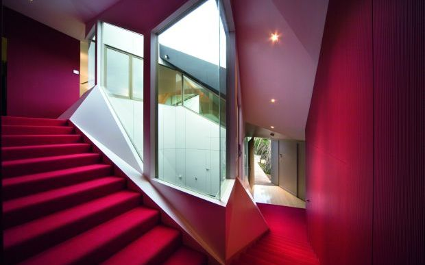 klein bottle house won worlds best house at the world architectural festival in 2009