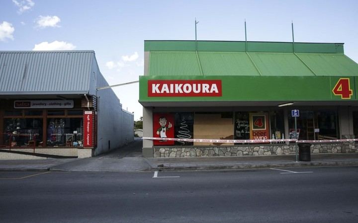 Kaikoura earthquake - Foursquare
