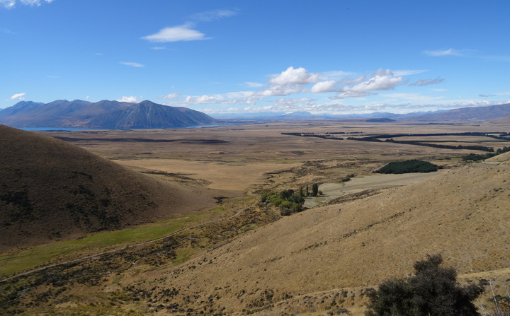 Mackenzie country looking towards Lake Ohau. The Mackenzie Basin could face a transformation as farmers look to intensify operations.