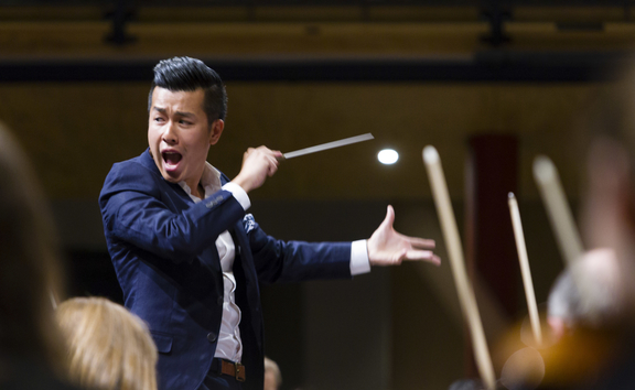 conductor Ray Chan