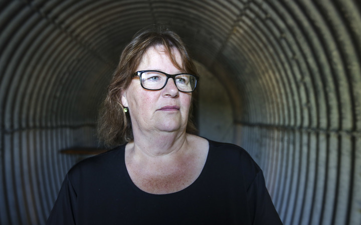 Karen Barwick and her husband Bruce Barwick ran a wedding venue in Kaikoura, Cellar View, the cannot afford to keep it running and Karen is too terrified someone could get hurt in another quake.