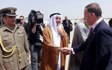 Prime Minister John Key spent just one day in Kuwait, at the end of his trade tour.