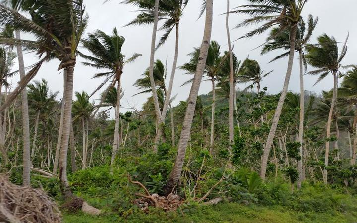 It's not a windy day but looks like it. Koro in some way is stuck on Feb 19 when Cyclone Winston hit.