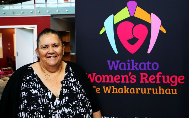 Raewyn Curtis, a team leader at Waikato Women's Refuge Te Whakaruruhau