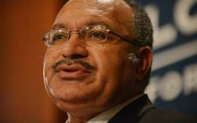 Prime Minister Peter O'Neill of Papua New Guinea.
