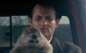 Bill Murray in a still from the 1993 film 'Groundhog Day'