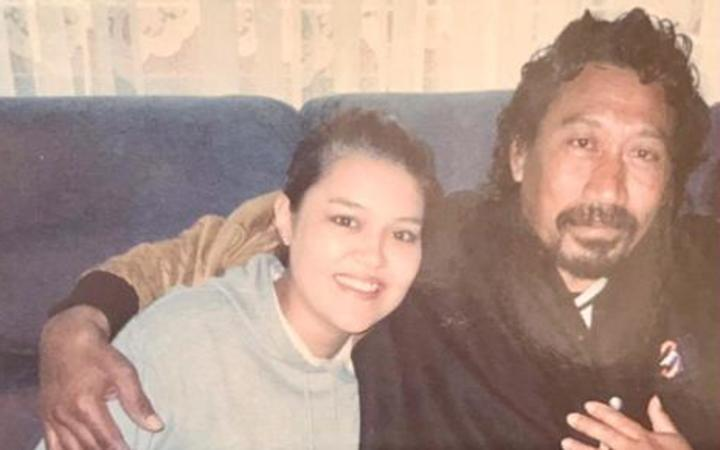 "Taulagi ""Lagi"" Afamasaga - pictured with his daughter Amy"