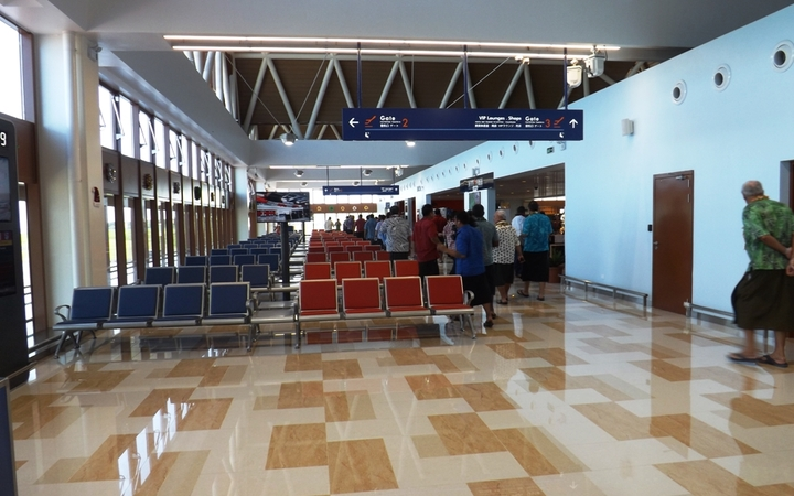 Samoa's Faleolo international airport's newly built departure lounge has been equipped with new technology