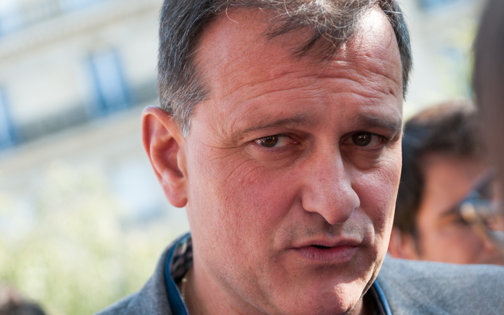 Deputy leader of France's National Front Louis Aliot