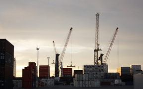 Napier port has seen an increase in imports and exports since the Hanmer Springs quake nearly three weeks ago forced Wellington's port to close.