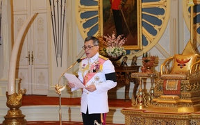 Thai Crown Prince Maha Vajiralongkorn accespts the invitation to ascend to the throne.
