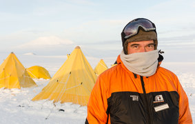 Warren Maxwell in Antarctica