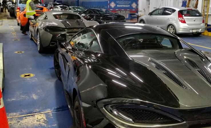 Mclaren Car Crashes Near Queenstown Radio New Zealand News