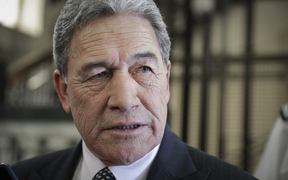 Winston Peters says John Key has resigned for 'hidden economic reasons'.