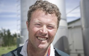 Dairy farmer Simon Mackle says life is getting back to normal since the Fonterra trucks are able to pick up milk.