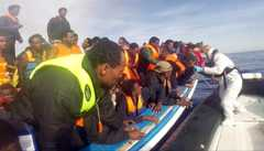 Italian coastguards said 3,690 migrants were rescued on May 2 alone, one of the highest numbers ever recorded in a single day, raising fears that the tide of desperate people trying to reach Europe has not been slowed by recent disasters.