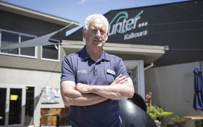 Owner, Dennis Burrman, Encounter Kaikoura