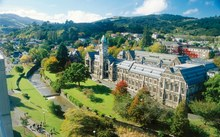 An aerial view of the University of Otago