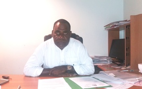 Vanuatu Statistics Dept head Simil Johnson