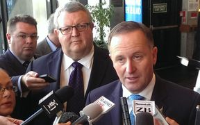 John Key and Gerry Brownlee.