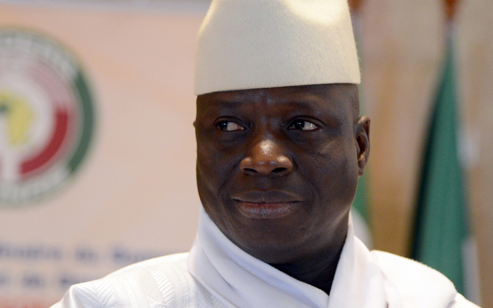 Jammeh has agreed to leave, new president tweets