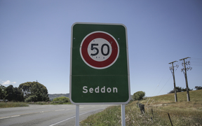 Seddon is cut off to the south on state highway 1