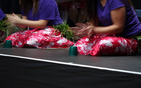 Inmates at the Arohata women's prison in Wellington have put on Christmas concerts to appreciative audiences.