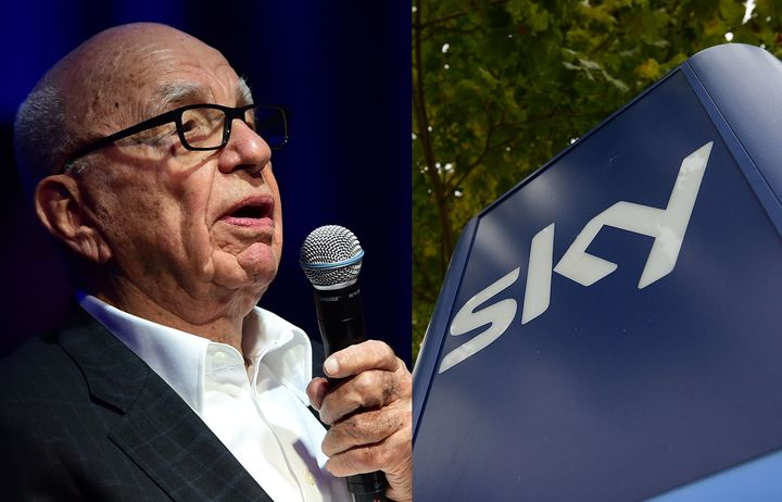 21st Century Fox agrees to acquire Sky