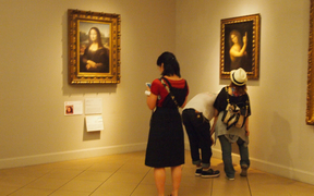 A copy of the Mona Lisa at Otsuka Museum