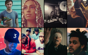 A Selection of Best Music 2016: Chance The Rapper, SWIDT, David Bowie, The Weeknd, Mary Lattimore, Nick Cave, Solange and D.D.Dumbo