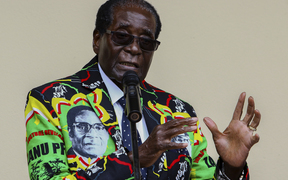 Zimbabwe President Robert Mugabe speaks at the party's annual conference on 17 December, 2016 in Masvingo.