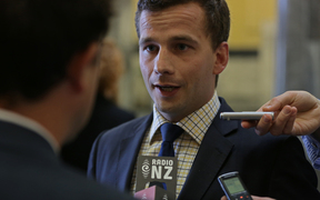 Act Party leader David Seymour.