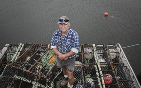 Paul Reinke rock lobster fisherman