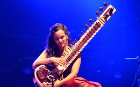 Anoushka Shankar in Lorient Interceltic Festival in 2014