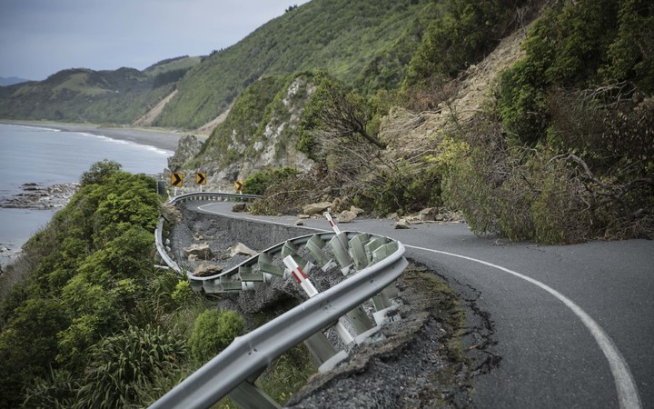 State highway 1 - north of Kaikoura