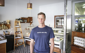 Owner of Kaikoura Cheese, Daniel Jenkins