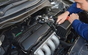 Car engine, vehicle maintenance, vehicle parts
