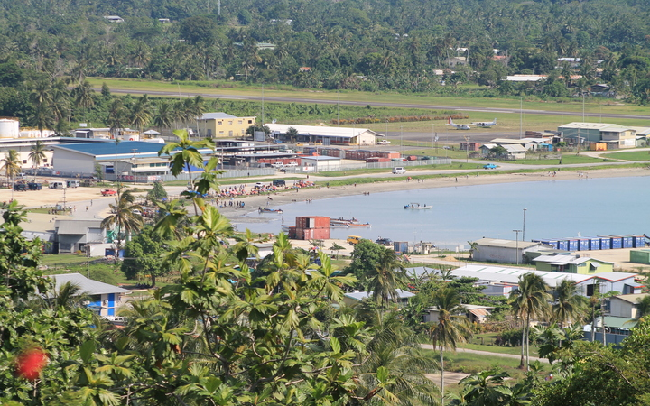 Vanimo, capital of West Sepik province, Papua New Guinea.