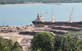 Export of round logs is the main economic activity in West Sepik, but the profits largely go abroad.