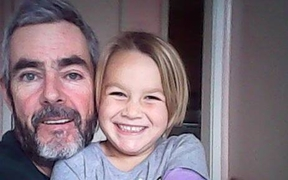 Que Langdon, six, and her father Alan Langdon have not been heard from since they left Kawhia on a sailing trip on 17 December.