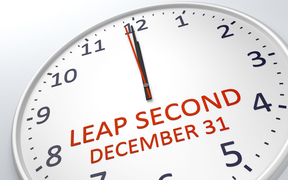 Time will gain a leap second before midnight on December 31, 2016.