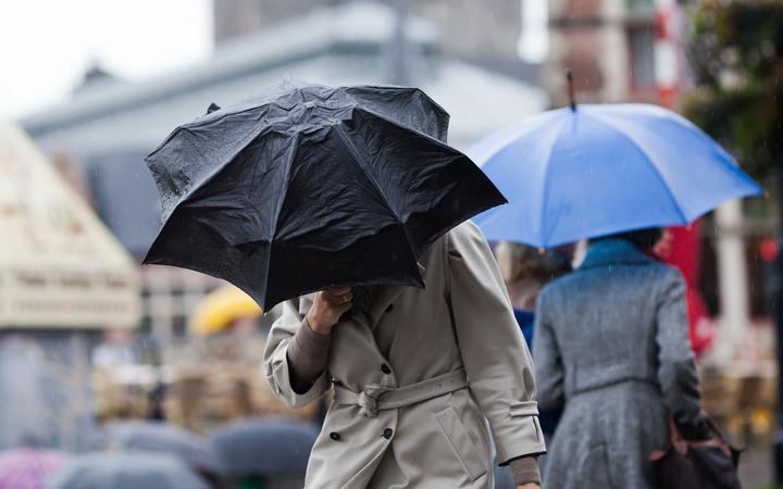 A normal rain umbrella