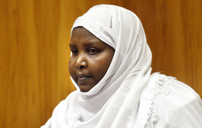 Asha Abdille stabbed both pilots on an Air New Zealand flight from Blenheim to Christchurch in February 2008. She was sentenced to nine years jail in 2010.