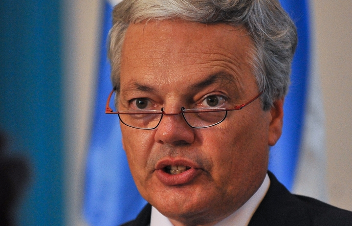 Belgium's Deputy Prime Minister and Minister of Foreign Affairs and European Affairs Didier Reynders.