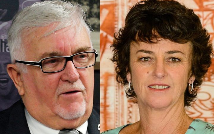 Sir Peter Leitch and Dame Susan Devoy