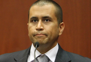 George Zimmerman in court in 2012.